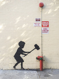 Better Out Than In Giclée-Druck von  Banksy