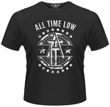 All Time Low- Block Emblem Shirt