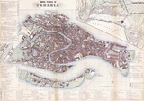 Nuova Pianta Di Venezia- Vintage Map Of Venice Julisteet