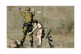 Oorlog Gicléedruk van  Banksy