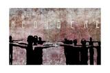 Mediocre Giclee-trykk av  Banksy