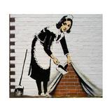Maid Giclée-tryk af  Banksy