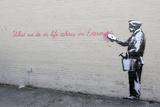 Echoes Giclee-trykk av  Banksy
