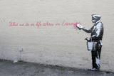 Echoes Giclee Print by  Banksy