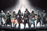 Assassin's Creed- Lineage Banner Pôsteres