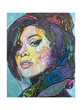 Amy Winehouse Giclee Print by Dean Russo