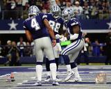 NFL: Dak Prescott, Dez Bryant, & Ezekiel Elliott 2016 Action Photo