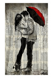 Rainfall and Kisses Poster af Loui Jover