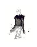Chanel in the Winter Posters par Jessica Durrant