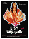 Black Emanuelle in Bangkok - A Touch of Exotic Sensuality - Starring Laura Gemser Affiches par  Pacifica Island Art