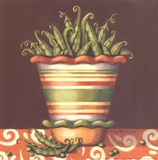 Peas In A Bowl Láminas por Kathy Middlebrook