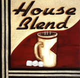 House Blend Posters by Grace Pullen