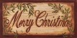 Merry Christmas Kunstdrucke von Grace Pullen