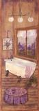 Bath in Lavender II Art by Grace Pullen