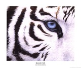 Blue Eye Posters by Lucie Bilodeau