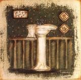 Bathroom Sink Kunstdruck von Grace Pullen