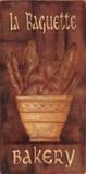 "Bäckerei ""La Baguette"" Kunstdruck von Grace Pullen"