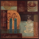 Cafe Print by Grace Pullen