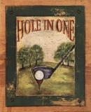 Hole in One Kunstdrucke von Grace Pullen