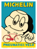 Michelin - Pneumatici Velo Bicycle Tires - Michelin Man Poster von  Pacifica Island Art