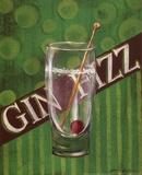 Gin Fizz Kunstdruck von Grace Pullen