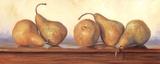Pears III Art by Lucie Bilodeau