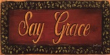 Say Grace Posters by Grace Pullen
