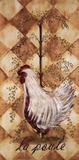 Poule Art by Grace Pullen