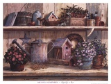 Rhapsodie rose Posters par Michael Humphries