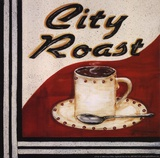 City Roast Posters by Grace Pullen