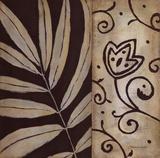 Brown Leaf II Kunstdrucke von Stephanie Marrott