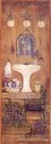 Badezimmer in Lavendel I Kunstdrucke von Grace Pullen