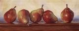 Pears II Prints by Lucie Bilodeau