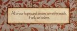Hopes And Dreams Pósters por Stephanie Marrott