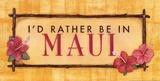 Maui Poster von Stephanie Marrott