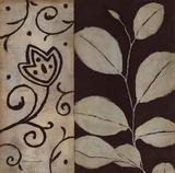 Brown Leaf I Poster von Stephanie Marrott