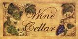 Wine Cellar Posters by Grace Pullen