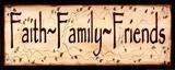 Faith Family and Friends Láminas por Kim Klassen