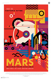 Visit Mars, Multiple Tours Available Posters