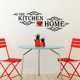 Vintage Kitchen Quote Autocollant mural