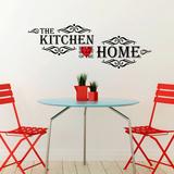 Vintage Kitchen Quote Decalcomania da muro