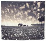 Manada Tapestry by Luis Beltran
