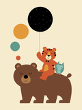 Little Explorer Giclee Print by Andy Westface