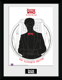 Doctor Who- Spacetime Tour 11th Doctor Collector Print