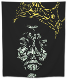 Notorious Big Tapestry by Cristian Mielu