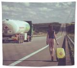 The Road.... Tapestry by Igor Baranyuk