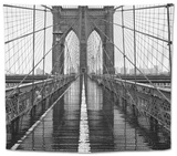 Brooklyn Bridge Tapestry by  PhotoINC