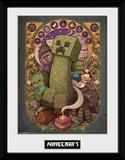 Minecraft - Creeper Nouveau Collector Print