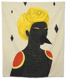 Blackbird Tapestry by Diela Maharanie