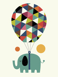Fly High and Dream Big Giclée-tryk af Andy Westface